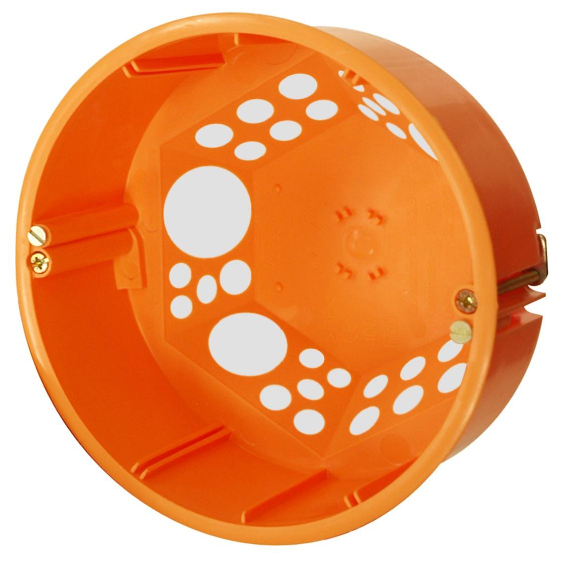 100 Stk Hohlwandabzweigdose winddicht Ø 120 mm, orange, M20/25 GTDWE816--