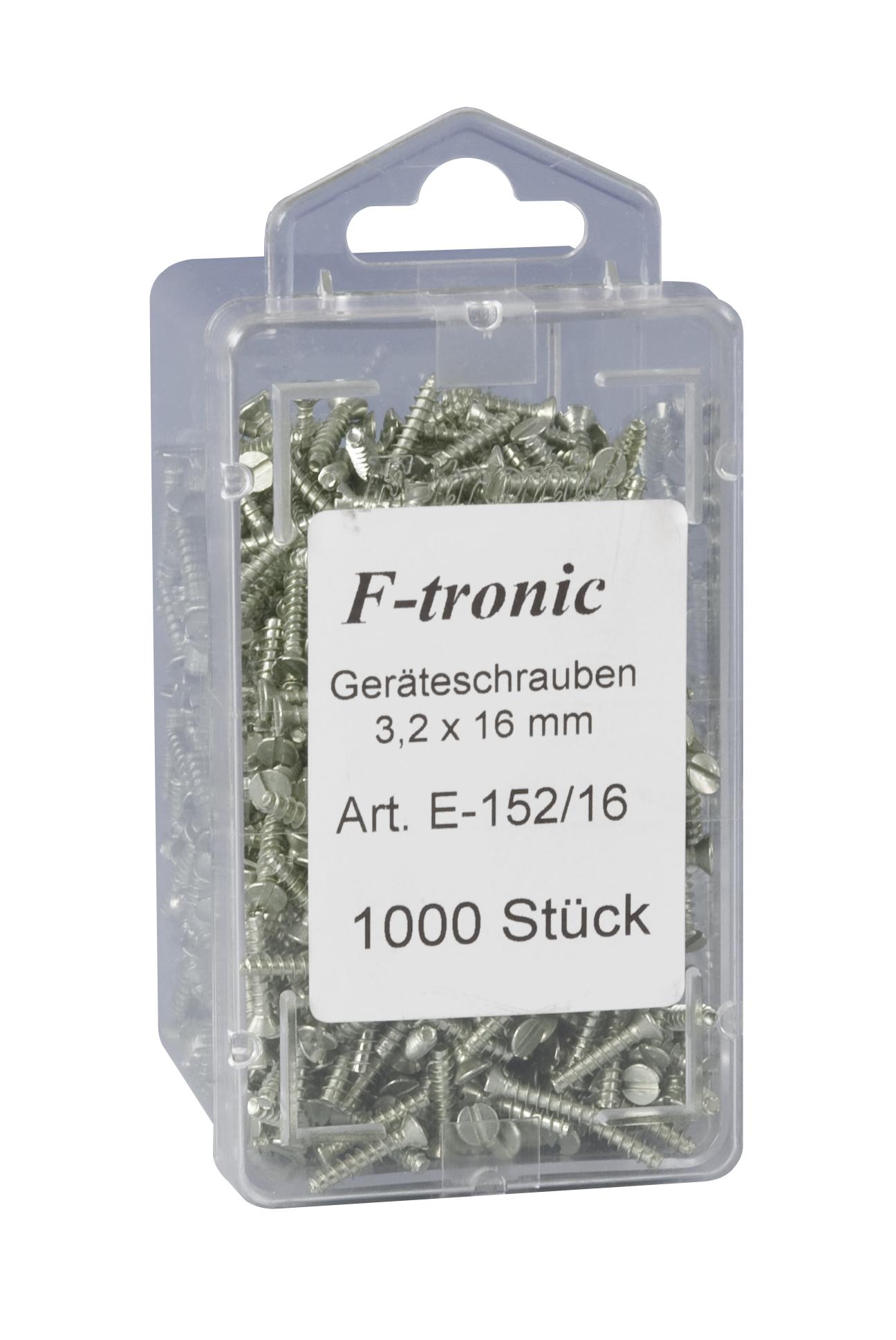 1 Stk Ersatzschrauben 3,2x15mm, 1000Stk Box (Schalterbefestigung) GTDZ152161