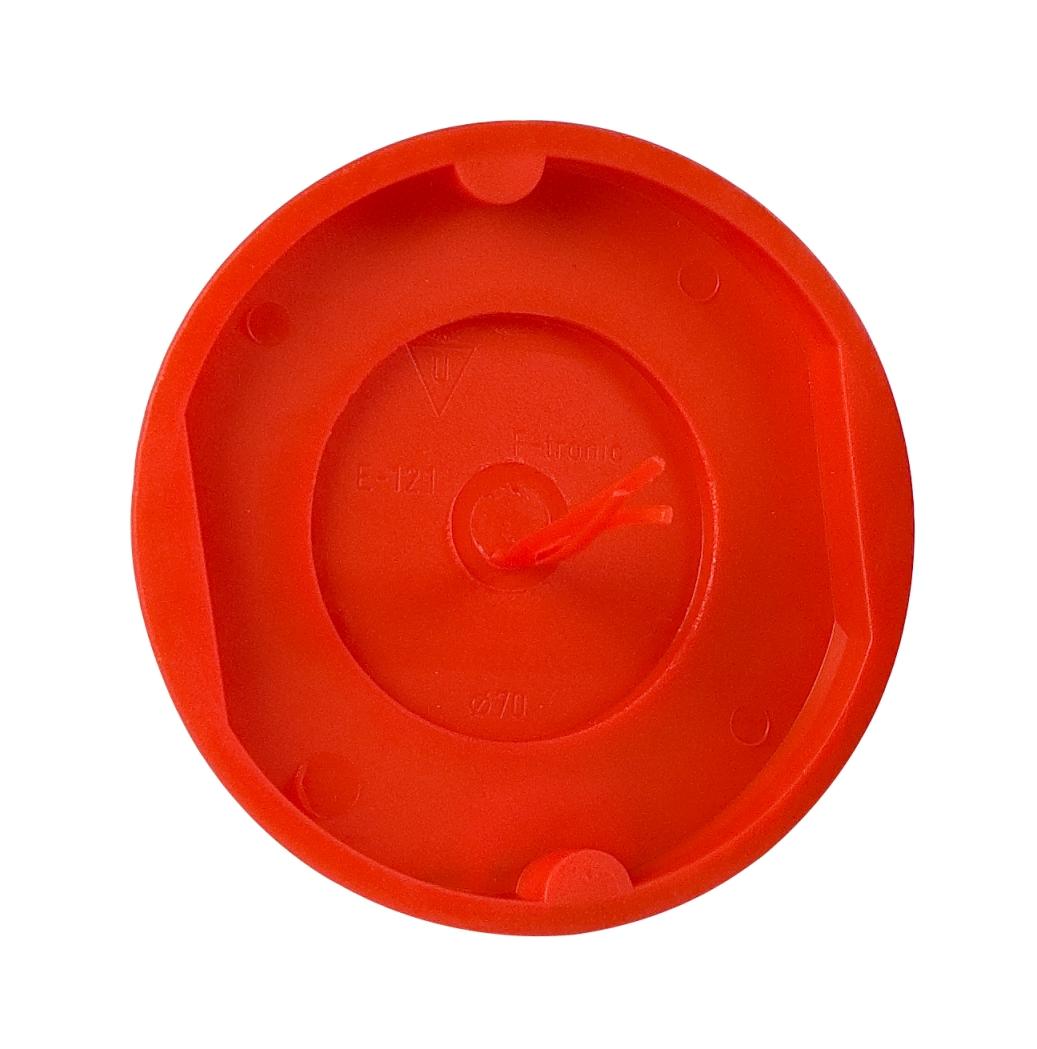 100 Stk Signal-Schalter-Dosendeckel, rot, für GTDU110 GTDZE121--
