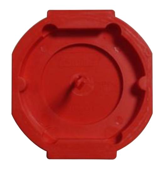 100 Stk Signal-Schalter-Dosendeckel, rot, für GTDU810 GTDZE122--
