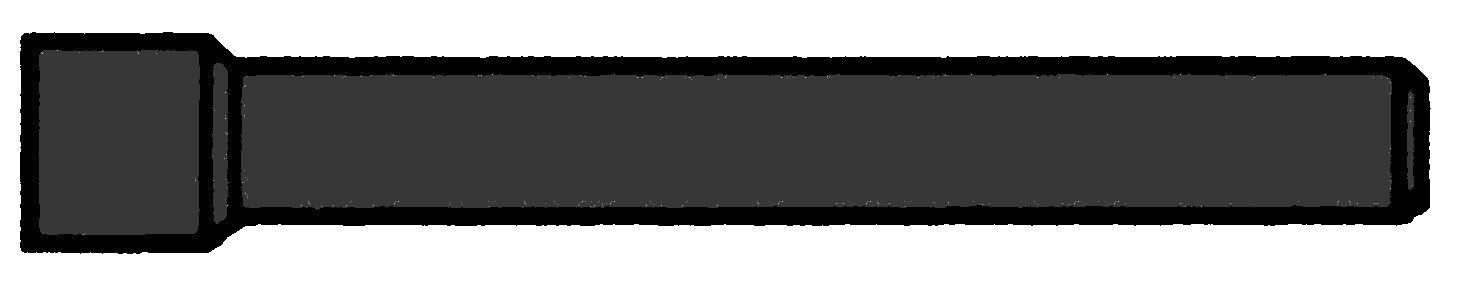 1 m Kabelschutzrohr da50xs1,8mm, l=3m, starr, schwarz, 450N GTKSR050-3