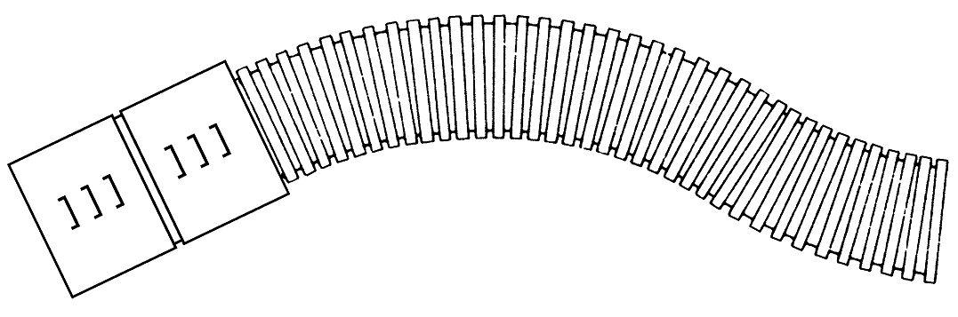 1 m Kabelschutzrohr da50xs2,5mm, Ring25m, flexibel, schwarz,250N GTKSX050--