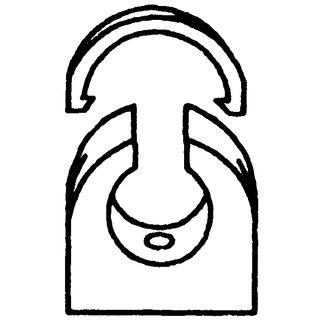 1 Stk Klemmschelle für Kabelschutzrohr KSR DN 50 GTZKSK050-
