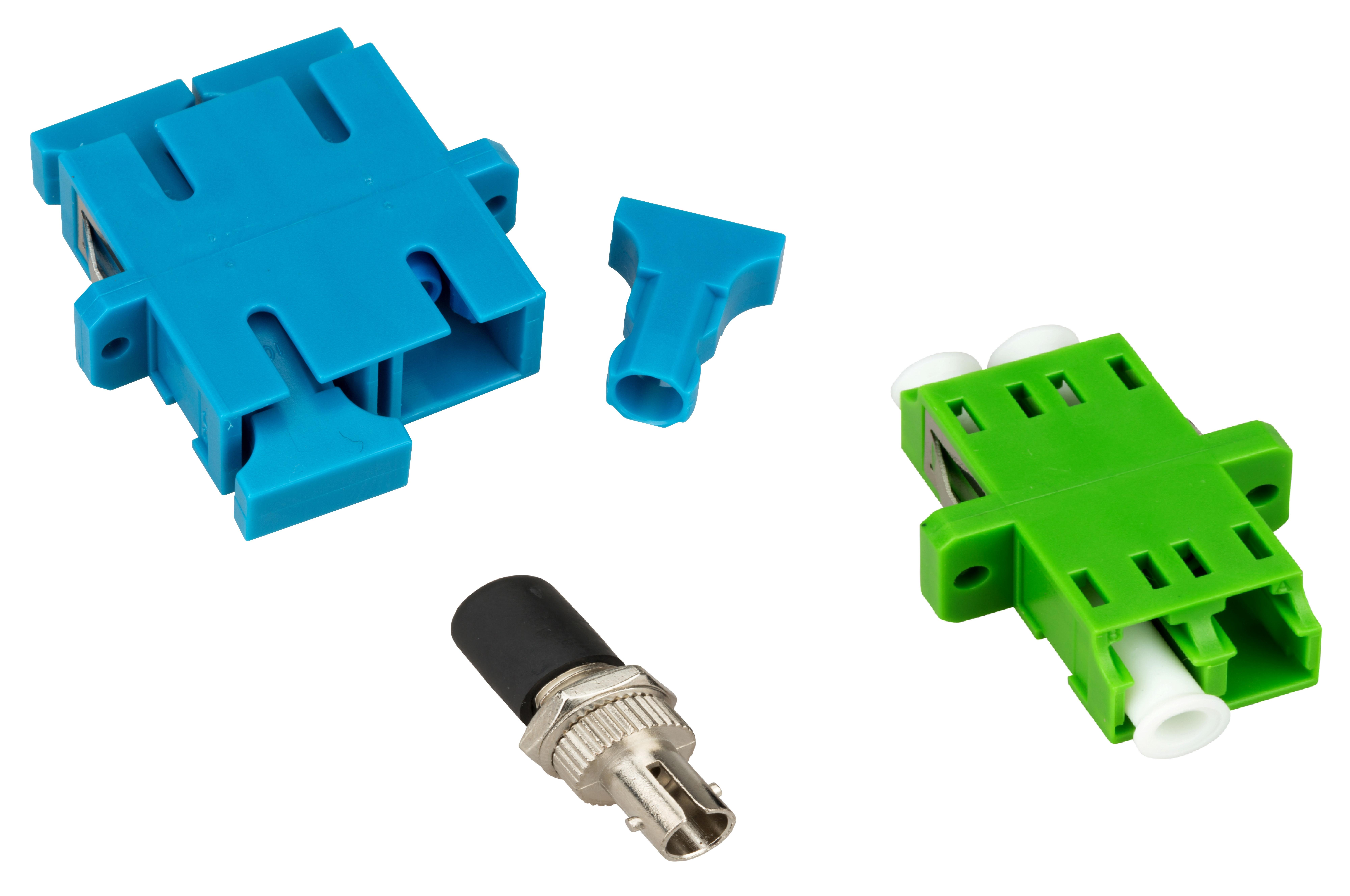 1 Stk LWL Kupplungsmontage LC/SC/ST/FC in Spleißbox pro Kupplung HARBEIT026