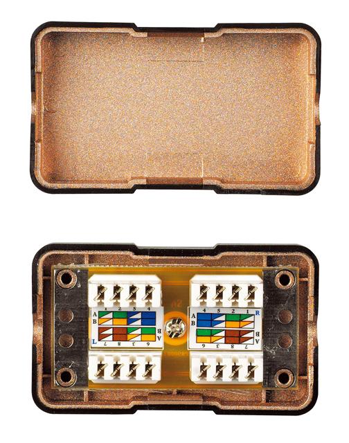 1 Stk Reparaturkit/Kabelverbinder für Installationskabel, Cat.6 HCAT6REPKI