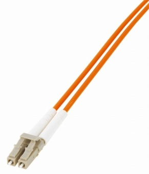 1 Stk LWL Patchkabel Duplex LC/SC,50/125µm OM2,LS0H-3,orange, 1.0m HLP25LC01F