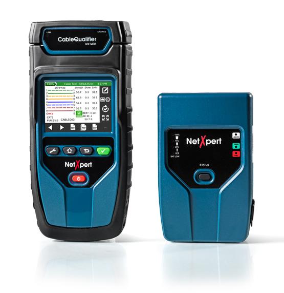 1 Stk NetXpert 1400 Netzwerk-/Verkabelungs-Qualifizierer HMSNX1400-
