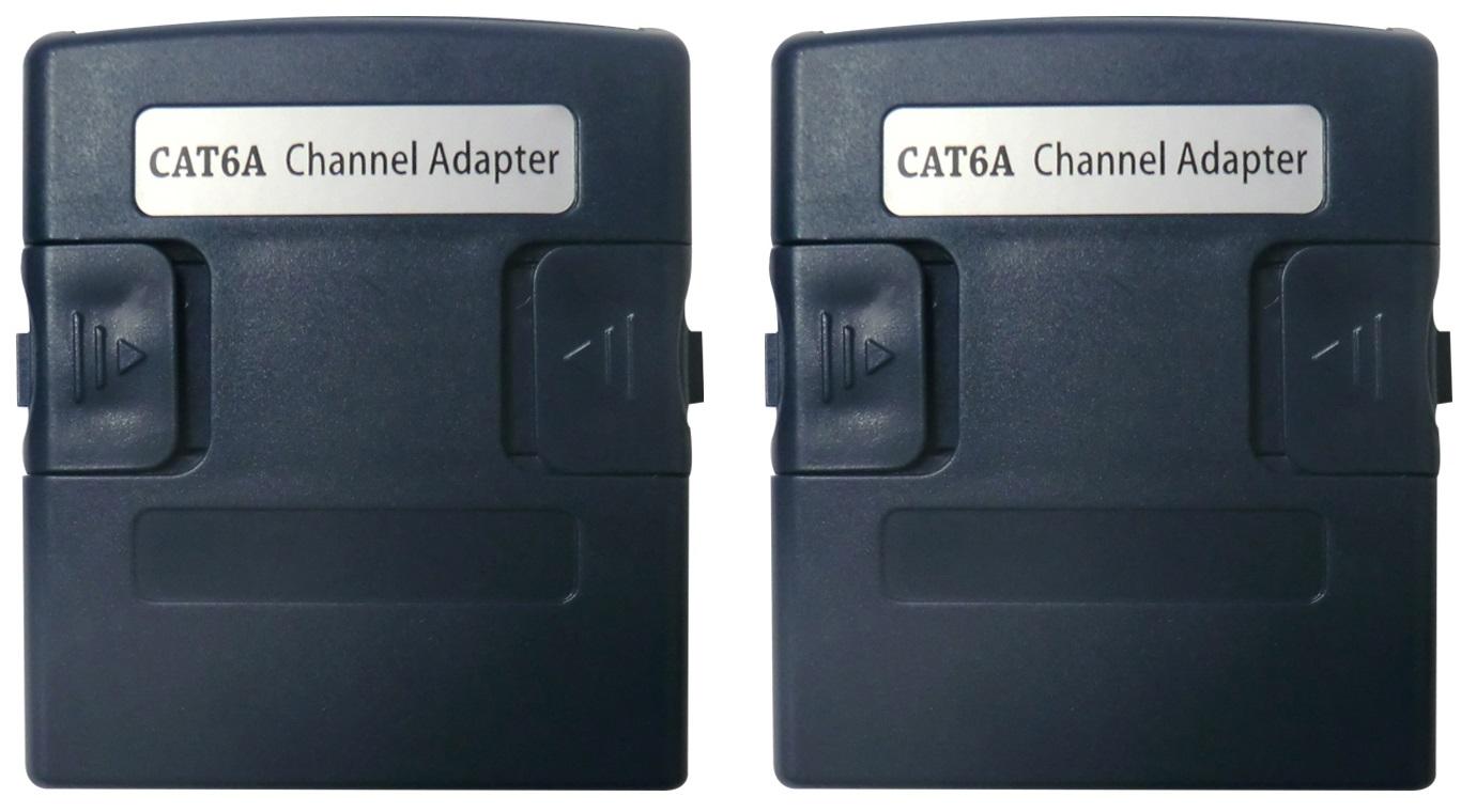 1 Stk WireXpert RJ45 Channel Mess-Adapter - Klasse Ea / Kat.6a HMSWXZCHA-