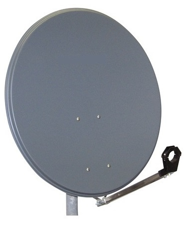 1 Stk SAT Antenne  65/60cm, Alu,37dB Gain,Arm klappbar,Anthrazit HSATA065AA