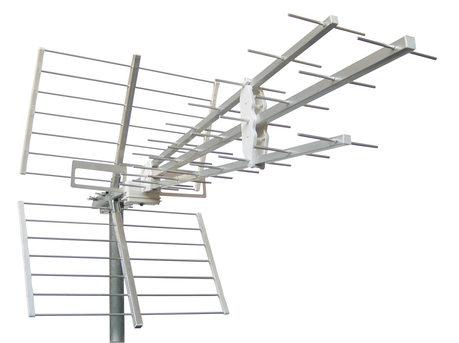 1 Stk DVB-T/ UHF-Breitband Antenne,Korrosionsschutz,F,K. 21-60,Alu HSATATT11A