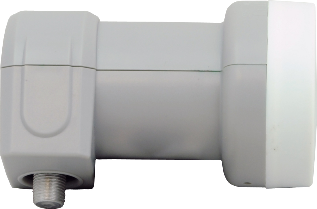 1 Stk SAT LNB Single für den Anschluß von einem Receiver,40mm Hals HSATL1A---