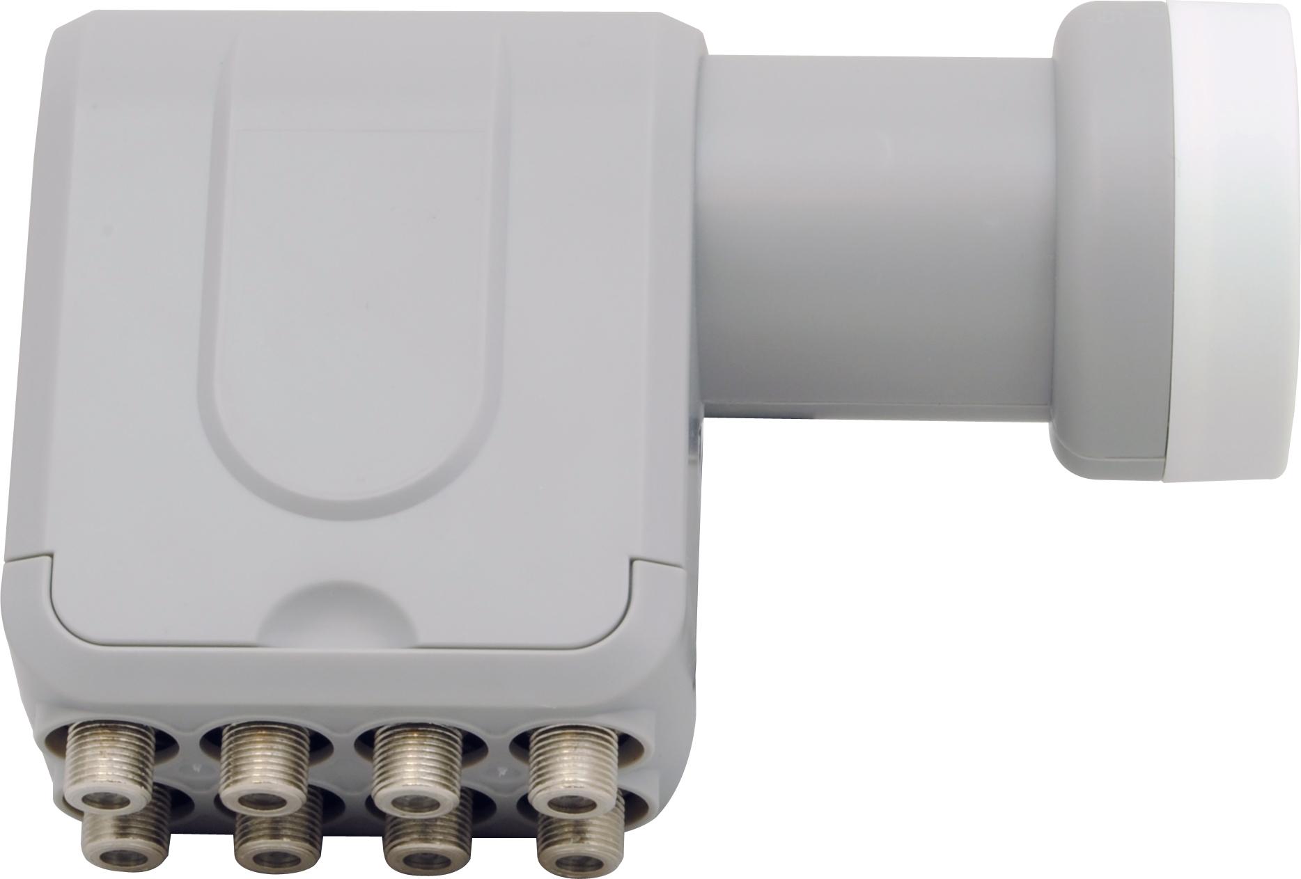 1 Stk SAT LNB Octo für den Anschluß von acht Receivern, 40mm Hals HSATL8A---
