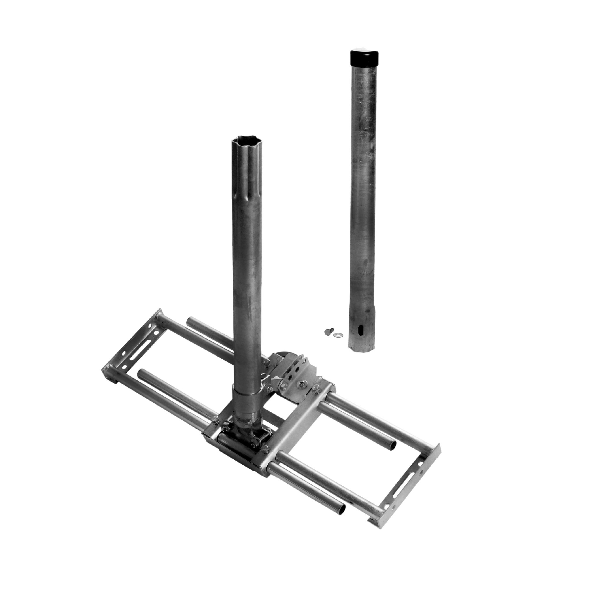 1 Stk SAT Dachsparrenhalter Universal,inkl.Mast 1.100,Horiz.,Stahl HSATMS02S-