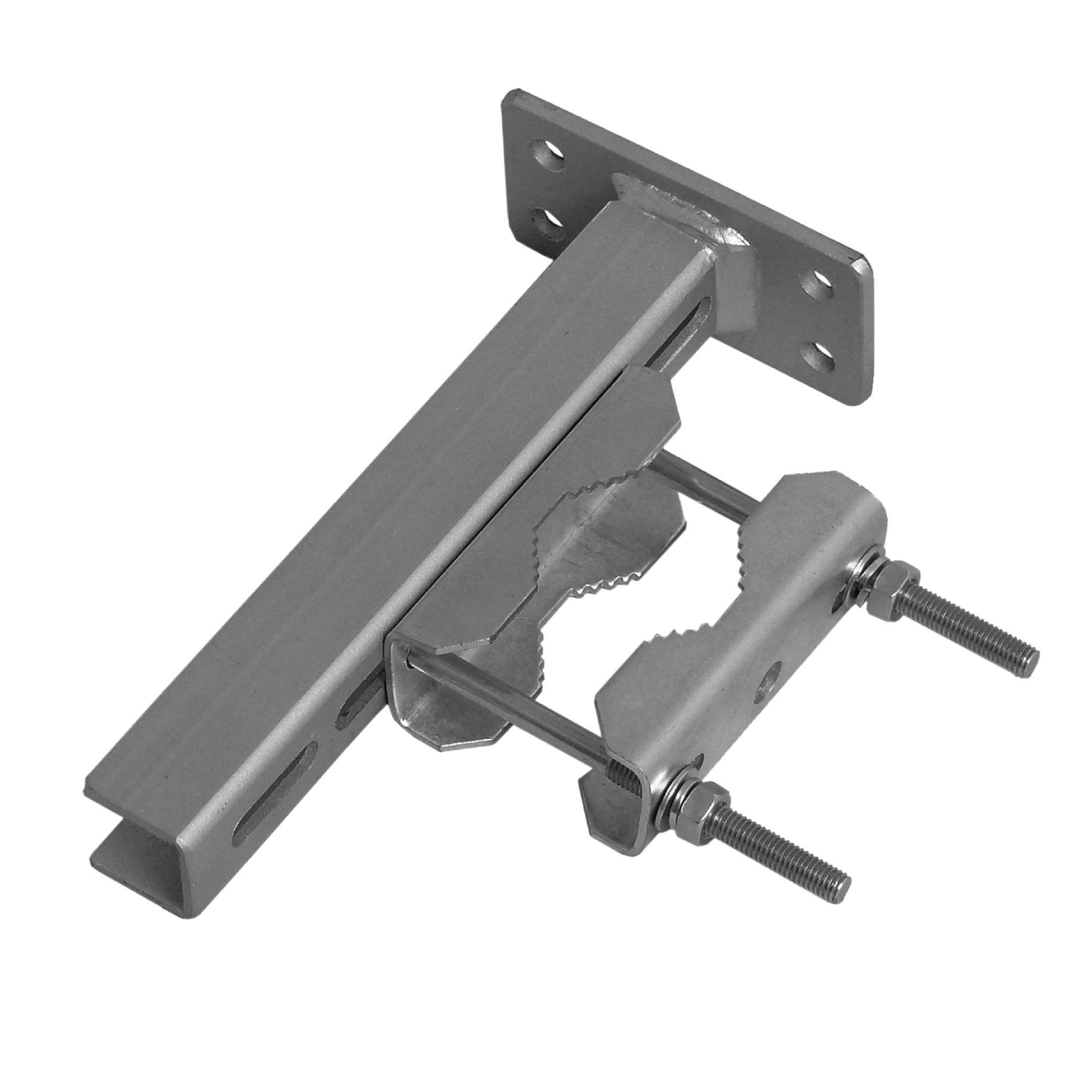 1 Stk SAT Mastschelle für Mastdurchmesser 38-60mm, Stahl verzinkt HSATMS60S-