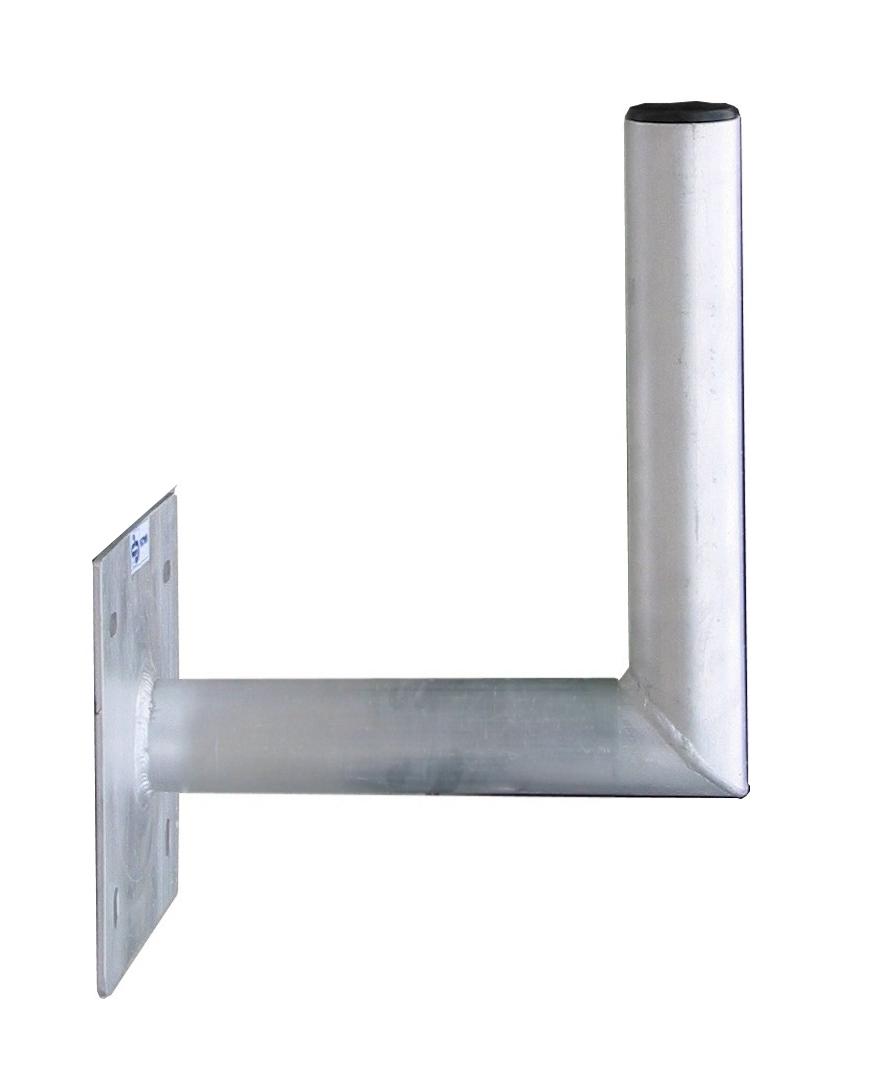 1 Stk SAT Wandhalter,Wandabst.=250mm,H=250mm,150x150mm,DM=50mm,Alu HSATMW25A-