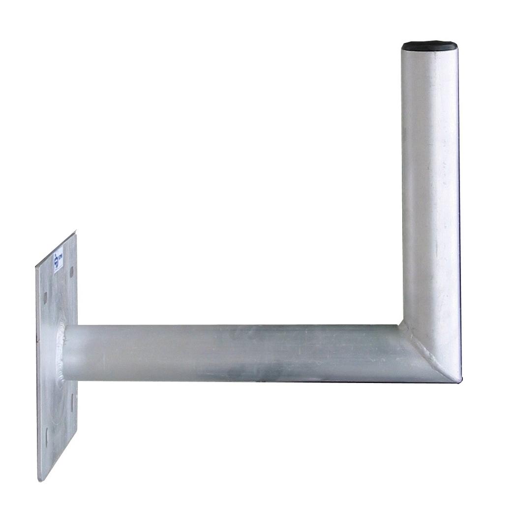 1 Stk SAT Wandhalter,Wandabst.=300mm,H=250mm,150x150mm,DM=50mm,Alu HSATMW30A-