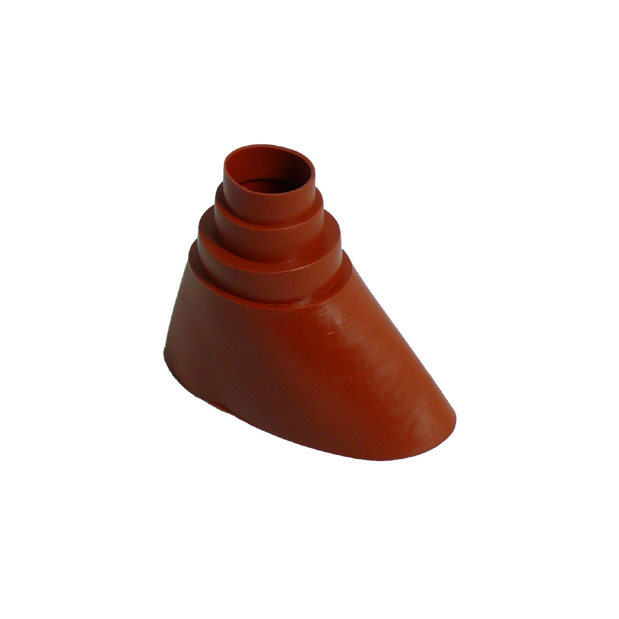 1 Stk SAT Gummitülle Universal Mast/Ziegel, Mast: 38-60mm, rot HSATMZZ02R