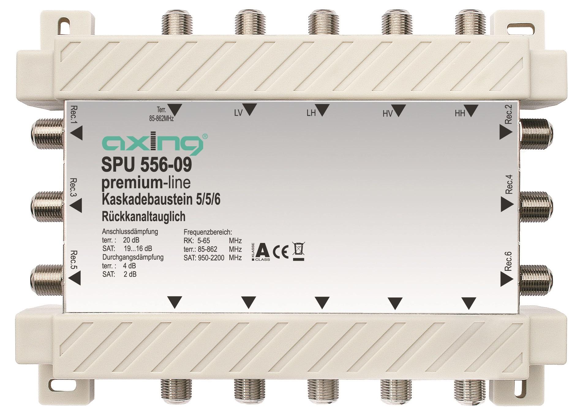 1 Stk SAT Kaskadierbaustein 5 in 6 passiv f. HSATS5xxKA,SPU 556-09 HSATSK506A