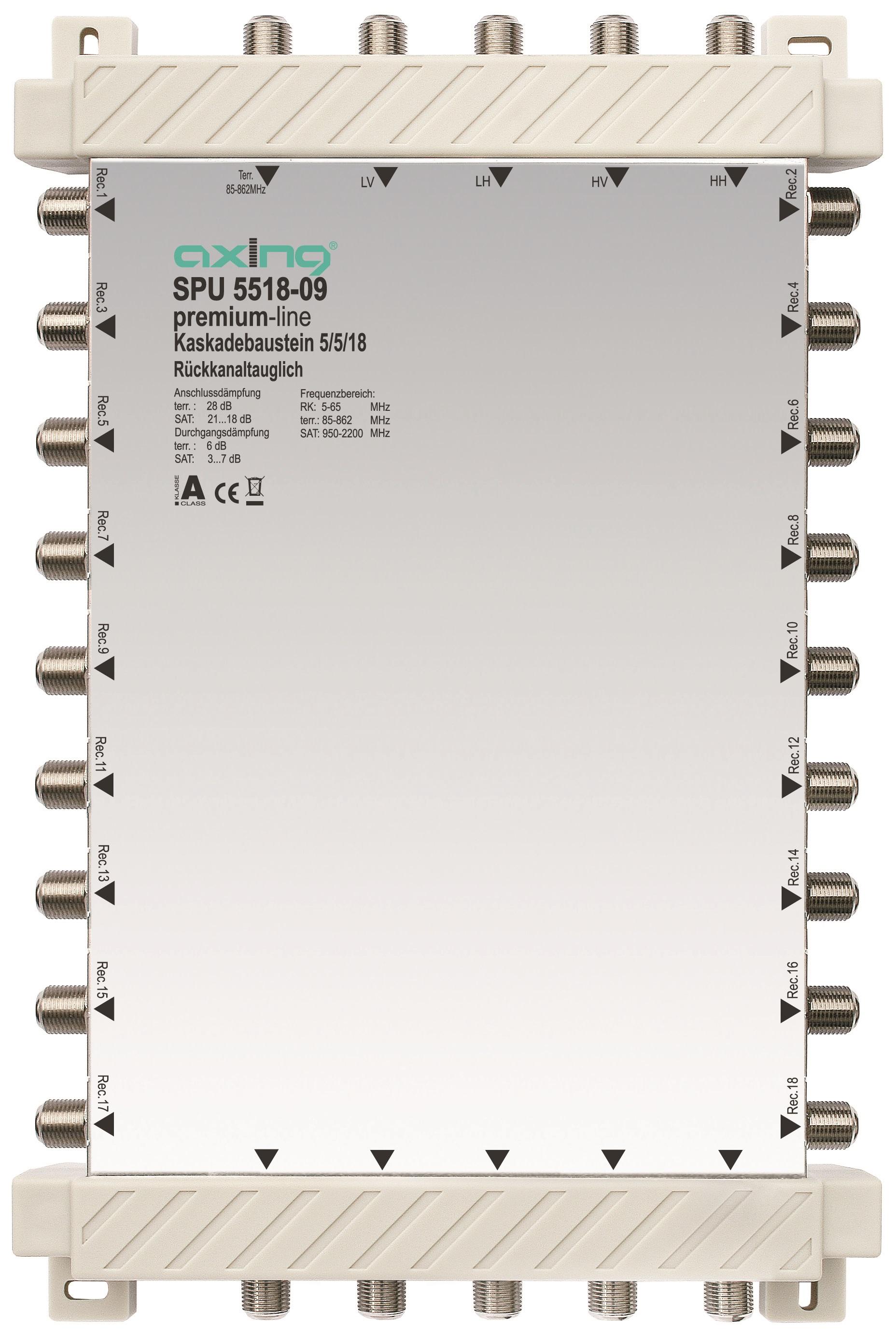 1 Stk SAT Kaskadierbaustein 5 in18 passiv f.HSATS5xxKA,SPU 5518-09 HSATSK518A