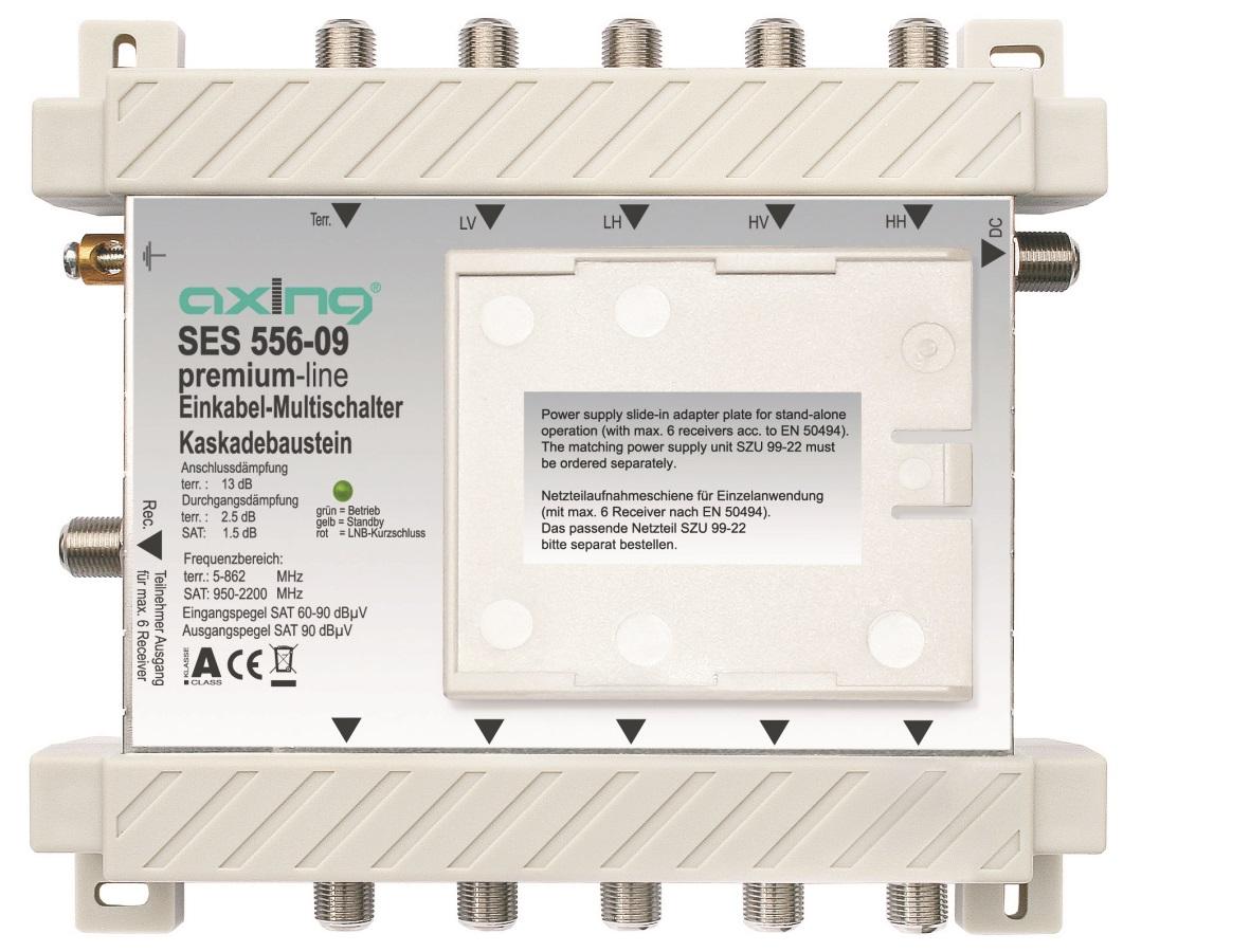 1 Stk SAT Kaskadierbaustein Einkabel 5 in6,f.HSATSU506A,SES 556-09 HSATSUK56A