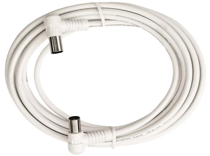 1 Stk BK Koax Patchkabel IEC-M/IEC-F,gew.,Cl.A,ws, 1,5m,BAK 153-00 HSBKPIW1K5