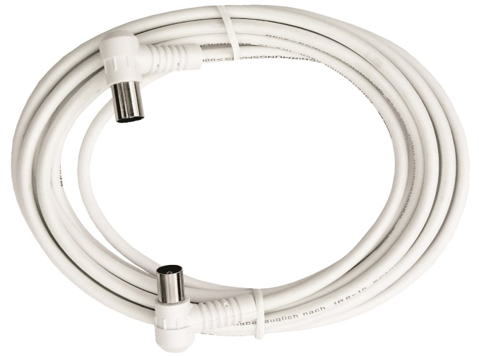 1 Stk BK Koax Patchkabel IEC-M/IEC-F,gew.,Cl.A,ws, 5,0m,BAK 503-00 HSBKPIW5K0