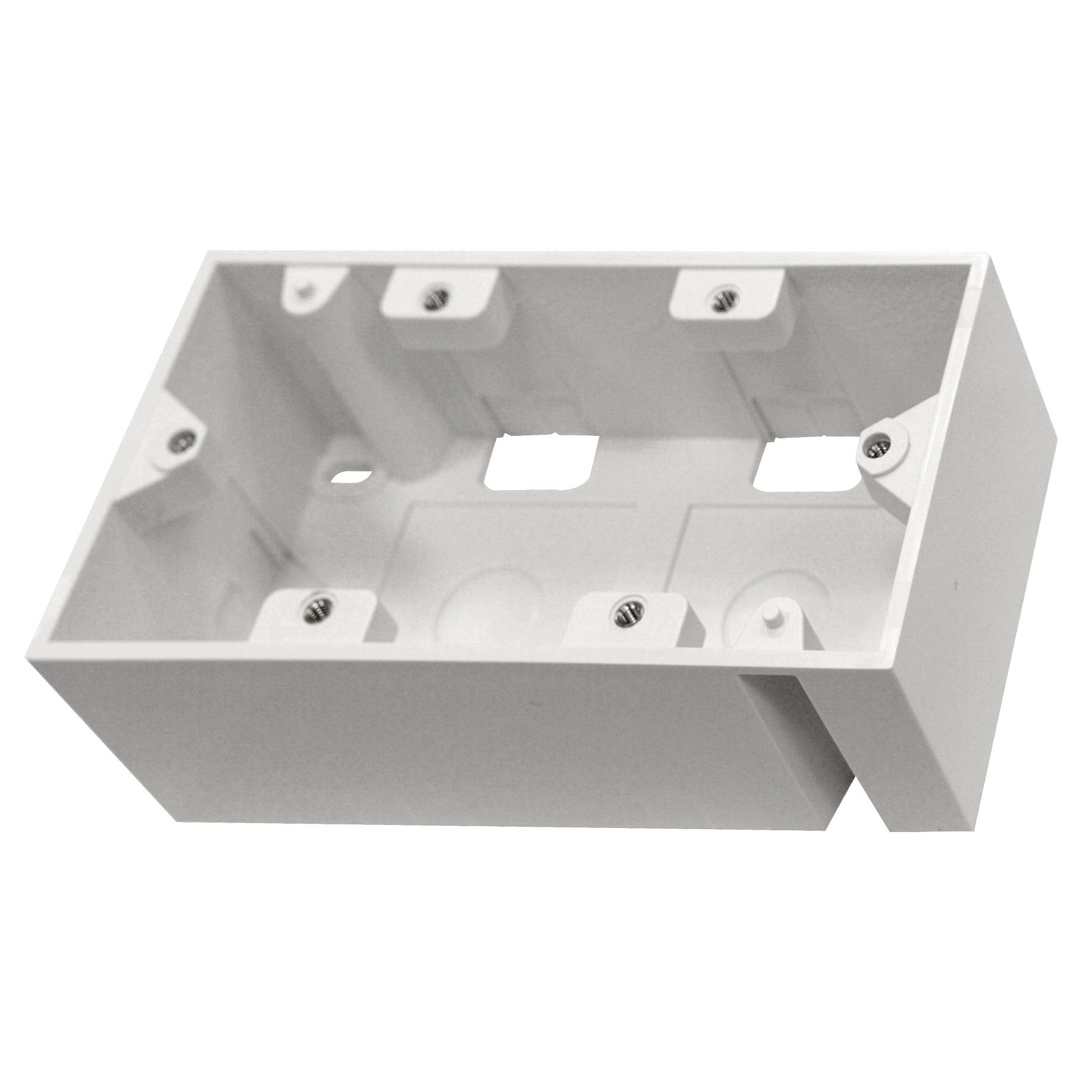 1 Stk Aufputz-Rahmen für HSEMDR4W0F, B148xH45xT80, RAL9010 HSEMAP4W3F
