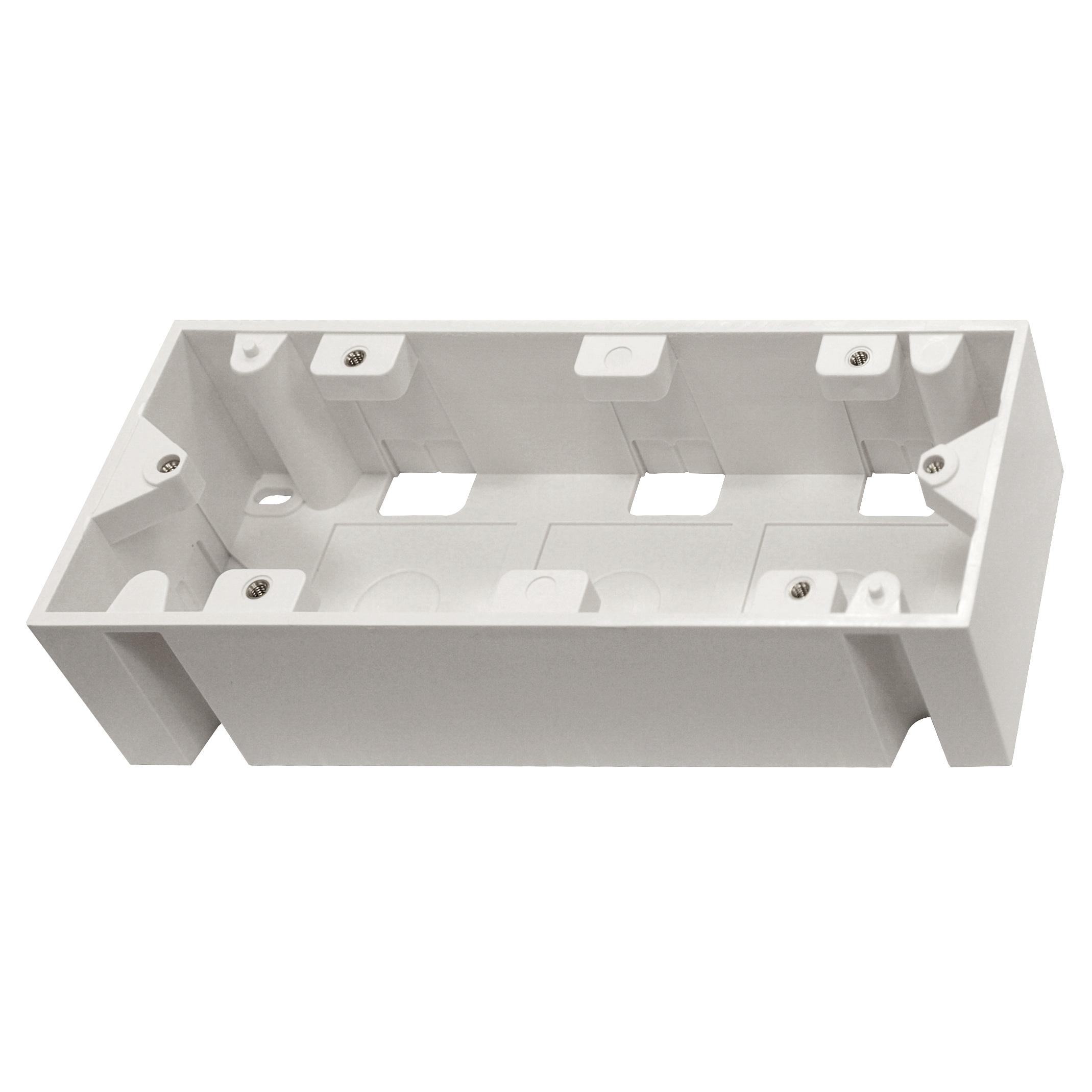 1 Stk Aufputz-Rahmen für HSEMDR6W0F, B205xH45xT80, RAL9010 HSEMAP6W3F