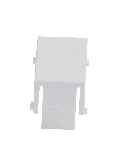 1 Stk Blindabdeckung für unbenutzte Patchpanel Ports, RAL9010 HSEMRZ01WF