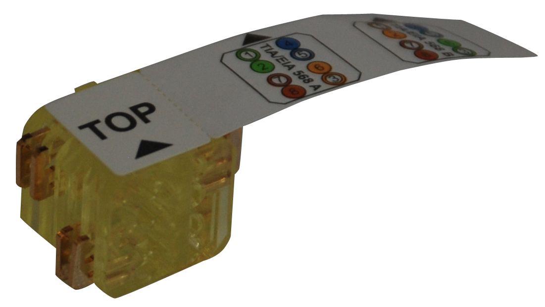 1 VE LED LINK LINE Kontaktblock Installationskabel,gelb,24 Stück HSLKBI--24