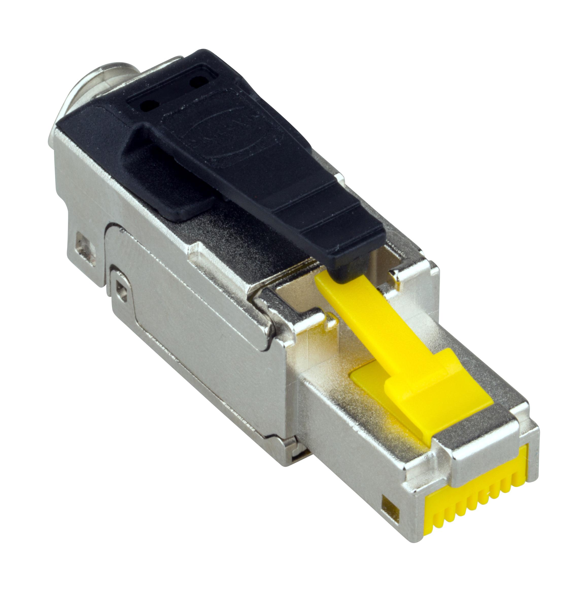 1 Stk QUICK CONNECT LINE Stecker RJ45 geschirmt Cat.6a, PoE+ HSLSR6SI3V