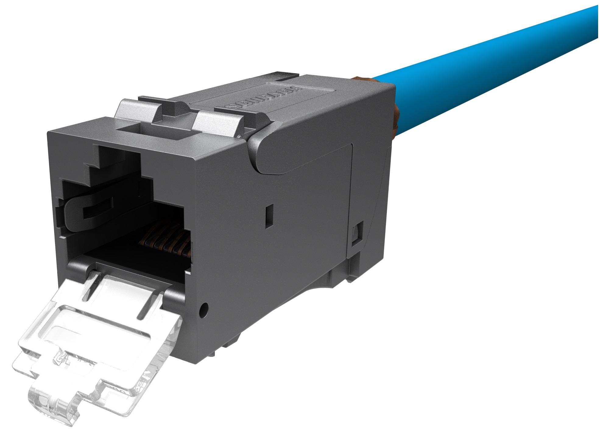1 VE PERFORMANCE LINE Buchse RJ45 geschirmt Klasse Ea 10GB PoE+ HSPMRJ6G2T