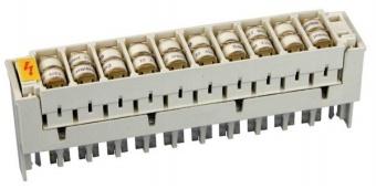 1 Stk Telefon Überspannungsmagazin mit 20 Ableitern 8x6mm 230V HSTUSPH1--