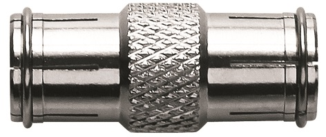 1 Stk SAT Koax Adapter F-Stecker auf F-Stecker, gerade, CFA 4-01 HSZUAFGMM-