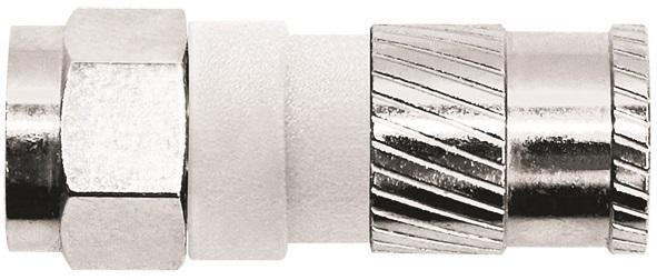 1 Stk SAT Koax F-Stecker Kompression,Kabel Dielektr. 5,1,CFS 97-51 HSZUSFC51-