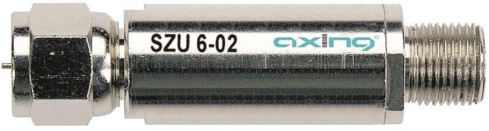 1 Stk SAT Überspannungsschutzgerät, F-Stecker/F-Buchse, SZU 6-02 HSZUU01A--