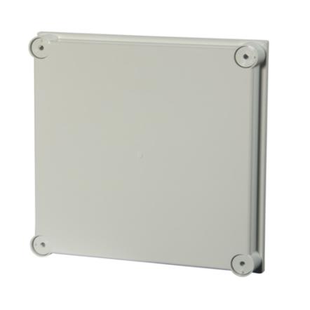 1 Stk Polycarb. Deckel, grau f. IG706112, 300x300x40mm,halogenfrei IG706117--