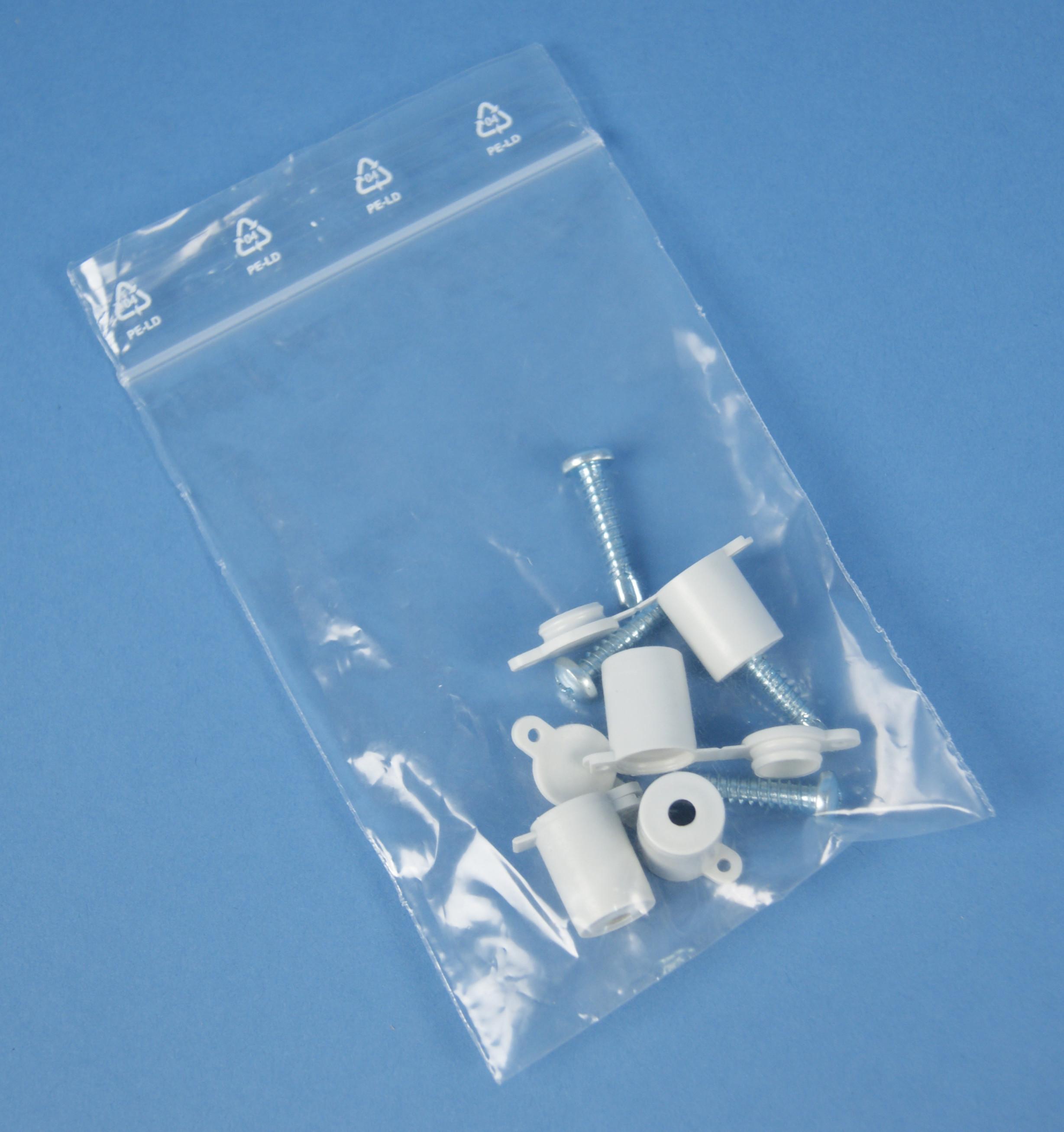 1 VE Plombierkappenset für Zählergerüst IG713722--