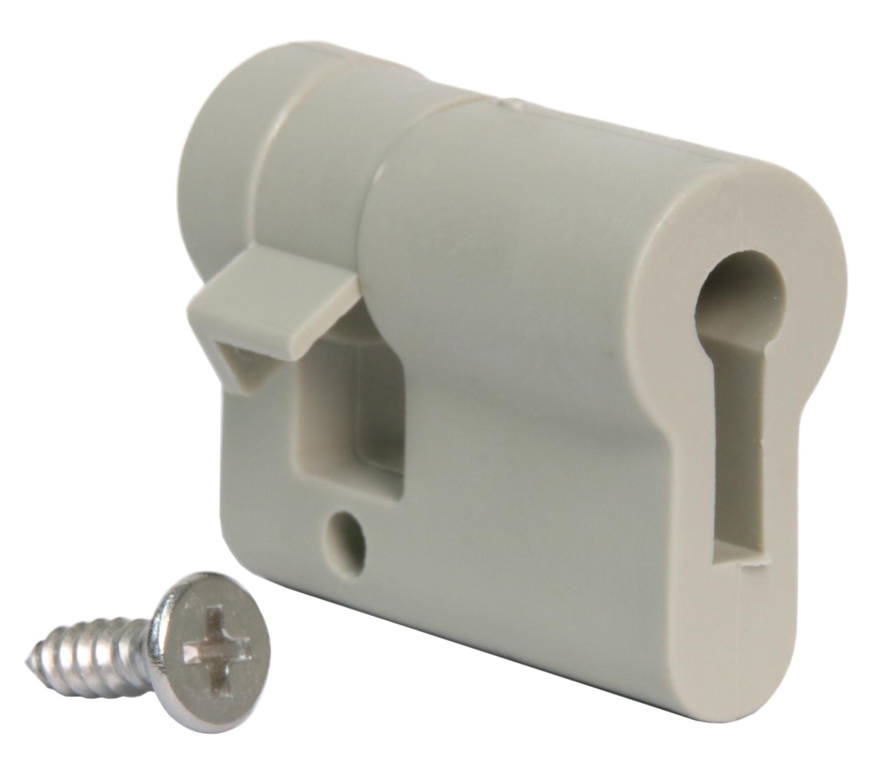 1 Stk Einbauhalbzylinder 61005 aus Kunststoff IG714049--