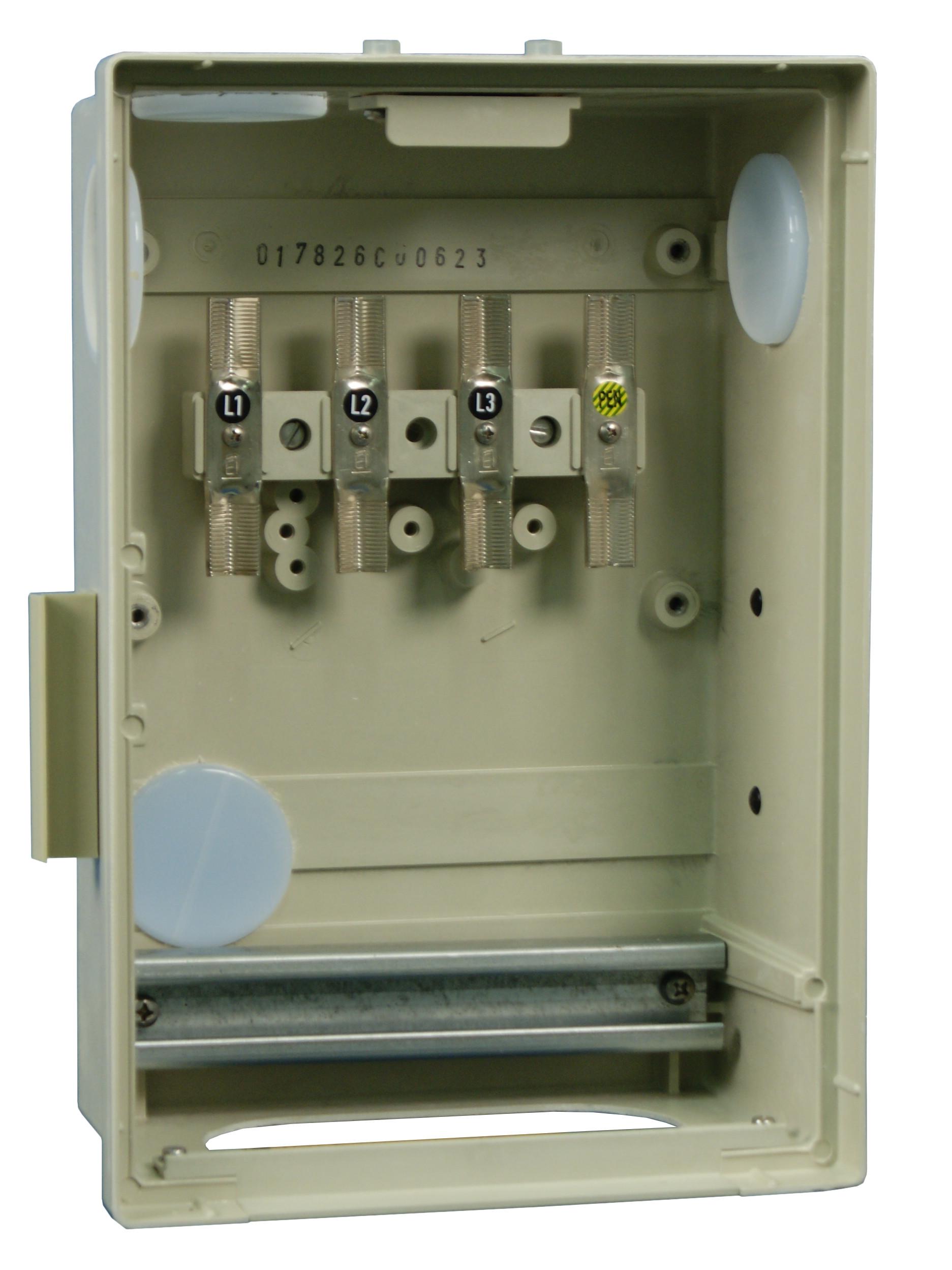 1 Stk Hausanschlussverteiler KÜK mit 4 V-Laschen IG714104--