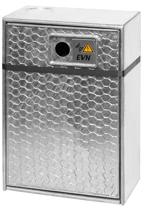 1 Stk Kabelüberführungskasten UP mit Vorzählerklemmblock IG714201--