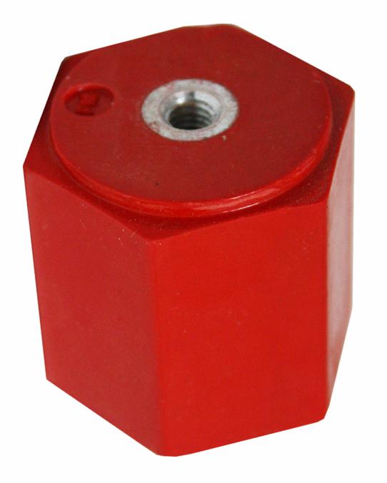 1 Stk Stützisolator, 2xM6 Innengewinde, Umbruch 3,5kN IK011030-A
