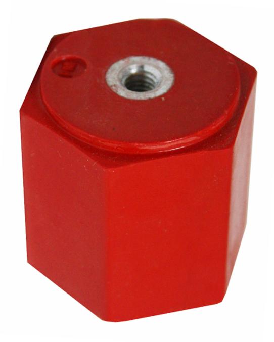 1 Stk Stützisolator, 2xM6 Innengewinde, Umbruch 4,3kN IK011035-A