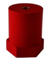 1 Stk Stützisolator, 2xM12 Innengewinde, Umbruch 10kN IK011039-A