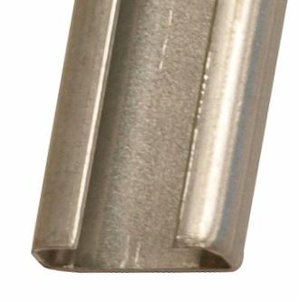 1 Stk C-Schiene ungelocht, Stahl, 2000x21x8,5mm (LxBxH) IK020003-A