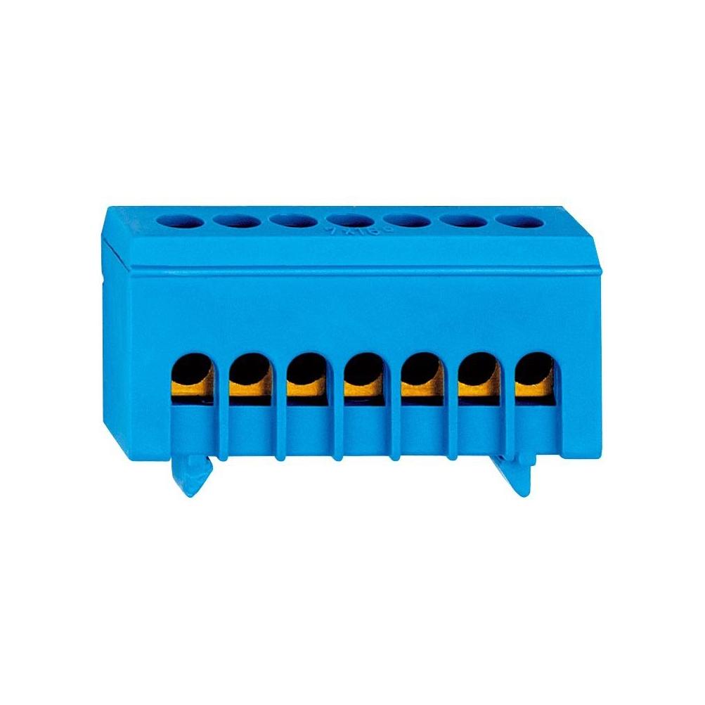 1 Stk Neutralleiterklemme, 7 Abgänge in isolierter Ausführung IK021036I-
