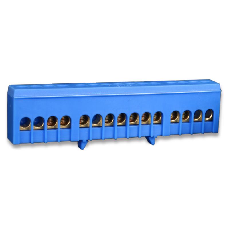 1 Stk Neutralleiterklemme, 15 Abgänge in isolierter Ausführung IK021038I-