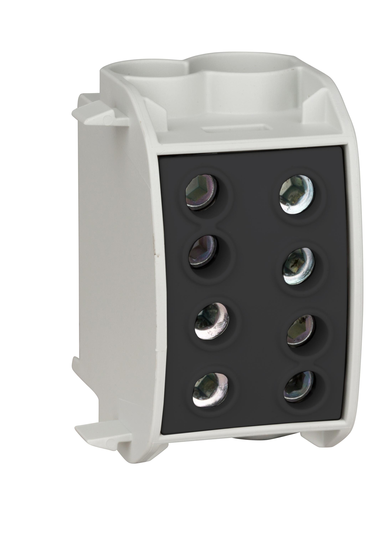 1 Stk Hauptleitungsabzweigklemme 70mm² - 1-polig,isoliert, schwarz IK026350--
