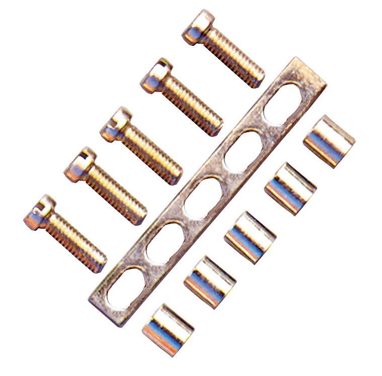 1 Stk Lochschiene 250mm lang, 14-löchrig, für CBD.50 IK100407--