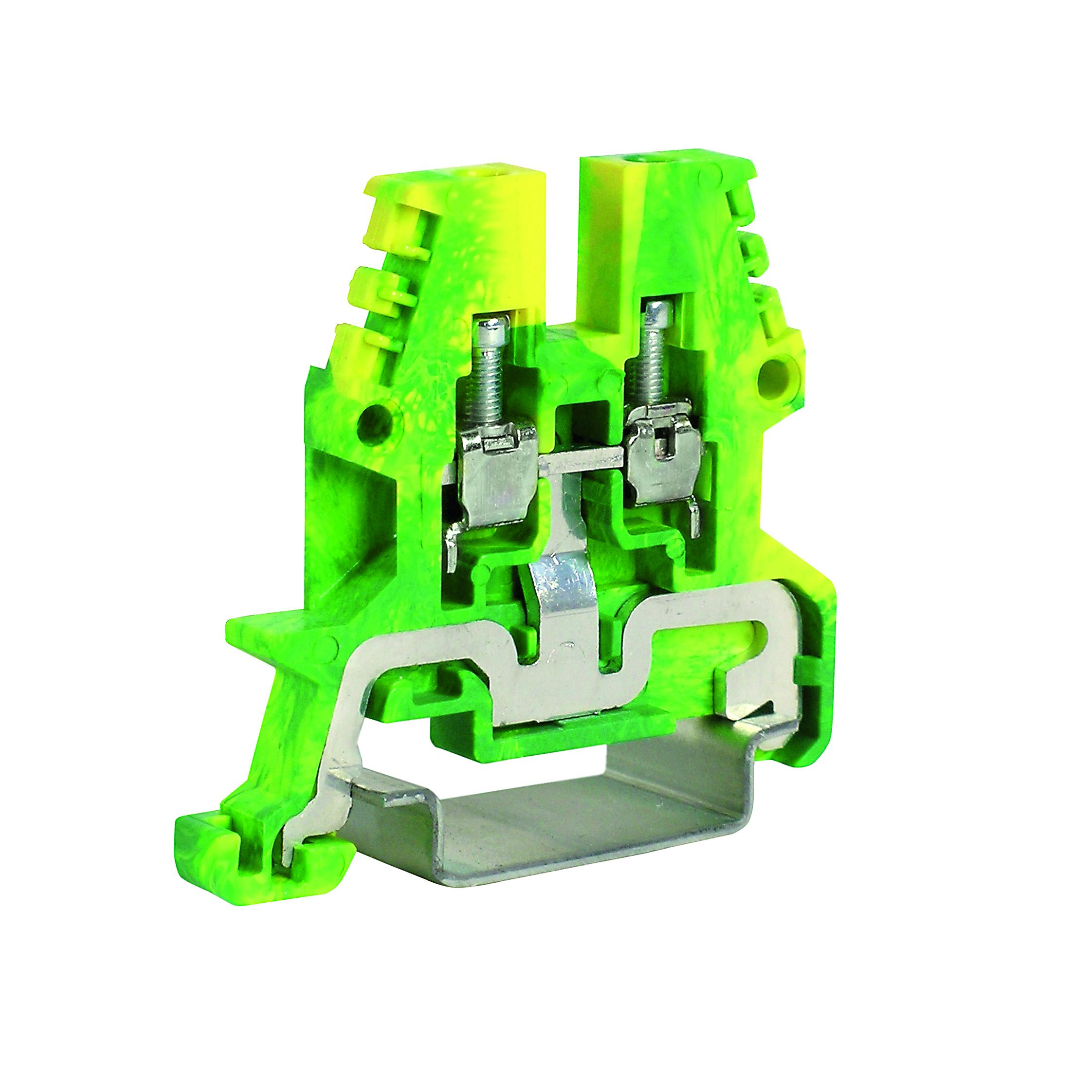 1 Stk Erdungsklemme TEO.2 grün-gelb, 2,5mm² IK122002--